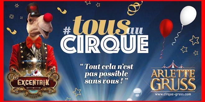 Le Cirque Arlette Gruss présente son nouveau spectacle à Villeneuve d'Ascq du 13 au 15 novembre 2020