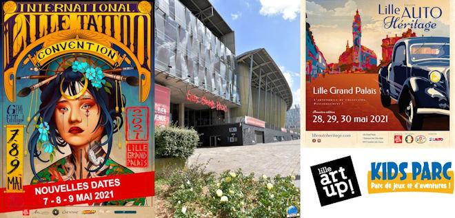 Lille Grand Palais dévoile une partie de sa programmation pour 2021