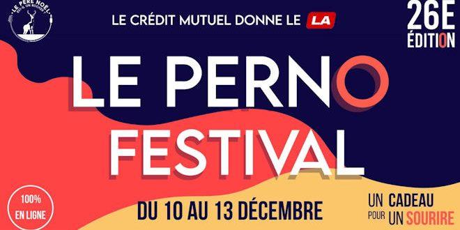 [Édition Digitale] Du 10 au 13 décembre 2020, le Perno Festival se réinvente en proposant «Un Cadeau pour Un Sourire»