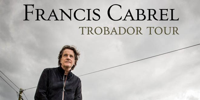 Francis Cabrel sera en concert au Zénith de Lille les 03 et 04 novembre 2021