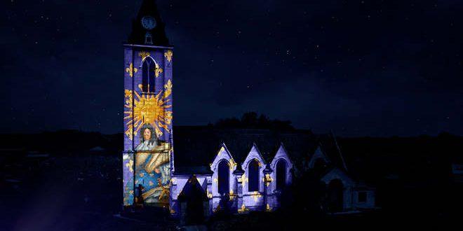 Vendredi 17 septembre 2021, Mapping sur l'Église Saint-Sébastien d'Annappes à Villeneuve d'Ascq