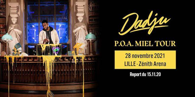 Dimanche 28 novembre 2021, le Zénith de Lille accueille le concert de Dadju