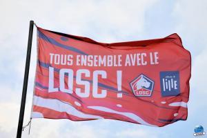 La ville de Lille aux couleurs du LOSC