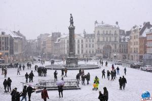 Neige à Lille 2021