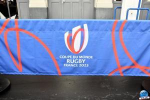 Train de la Coupe du Monde de Rugby 2023