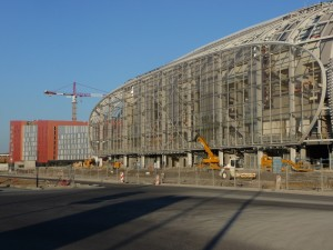 Travaux Grand Stade Lille