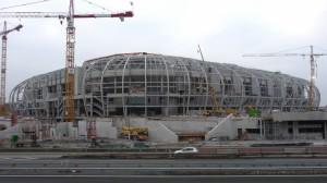 Travaux Grand Stade