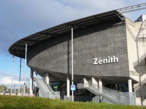 Visite du Zénith de Lille