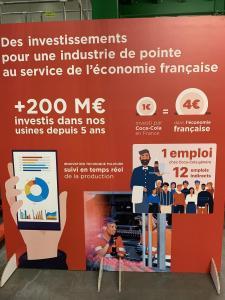 + de 200 M€ investis dans les usines Coca-Cola