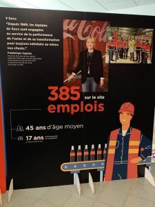 385 emplois dans l'usine Coca-Cola Socx